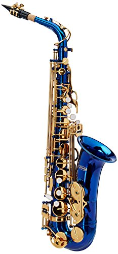 Merano GWD510BL E Flat Alto Saxophone with Zippered Hard Case