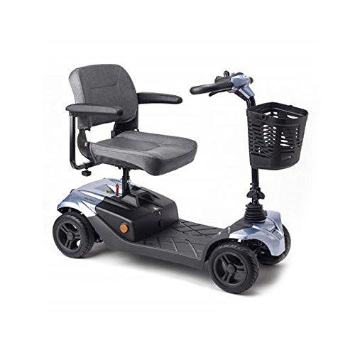 Apex I-Confort, Scooter eléctrica, Desmontable en 4 piezas, Especial para problemas de espalda, Con amortiguadores, Baterías extraíbles para recarga ✅