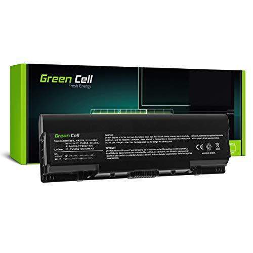 Green Cell 312-0576 312-0577 312-0589 312-0590 312-0594 312-0595 451-10476 451-10477 DY375 FK890 FP282 GK479 GR986 GR99 GR995 KG479 NR222 Battery for Dell Laptop (6600mAh 11.1V Black)