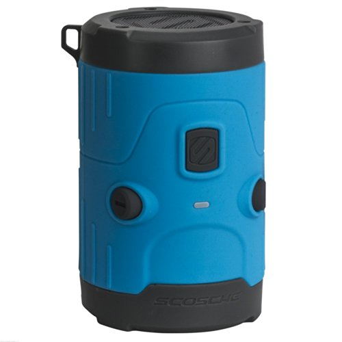 Scosche boomBOTTLE H2O Bluetooth Bluetooth Wireless Speaker - Blue