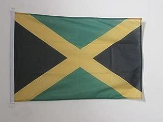 AZ FLAG Jamaica Nautical Flag 18'' x 12'' - Jamaican Flags 30 x 45 cm - Banner 12x18 in for Boat