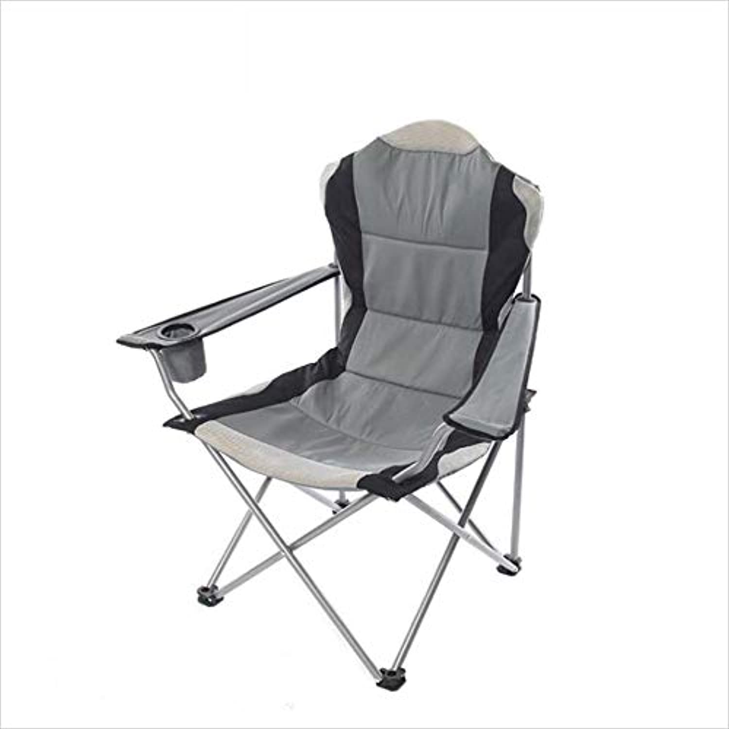 Multifunctional Outdoor Leisure Beach Chair Folding Chair Armchair with Cotton,Folds up to fit Inside Most car Trunks,Versatility