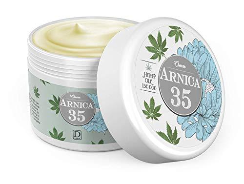 Dulàc - Arnica 35 HEMP - DAS KONZENTRIERTESTE - Arnika Gel Creme 35% konzentriert & Hanföl - 99% natürlich (75 ml)