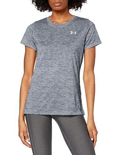 Under Armour Tech T-shirt met korte mouwen - Twist, dames gemaakt van 4-weg stretchstof, ultralichte en ademende hardloopkleding dames