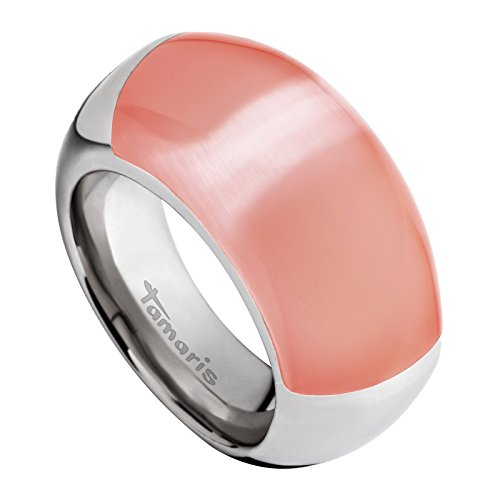 Tamaris Jewelry Candy Ring Edelstahl mit synth. Katzenauge RG 52 A0011030-2