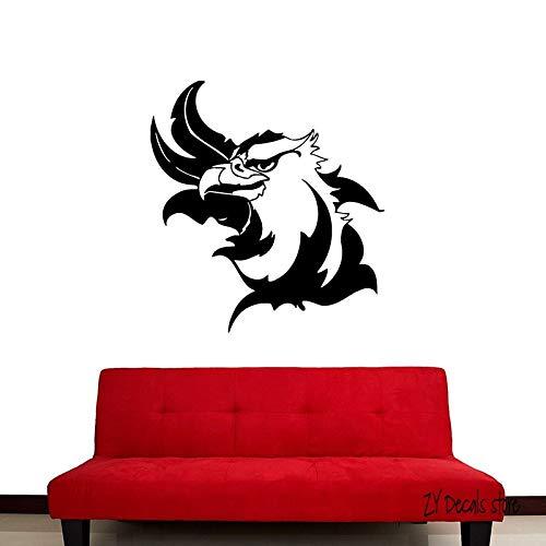 supmsds Adler Vogel Wandtattoos Niedlichen Tiere Wandaufkleber Für Schlafzimmer Abnehmbare Kunstwandhauptdekoration Tapete Für Wohnzimmer 56x60 cm