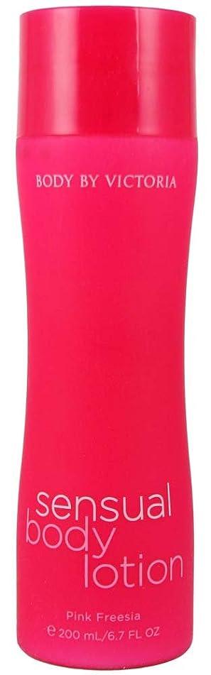 Victoria's Secret Body By Victoria Pink Freesia Sensual Body Lotion 6.7 fl oz (200 ml)