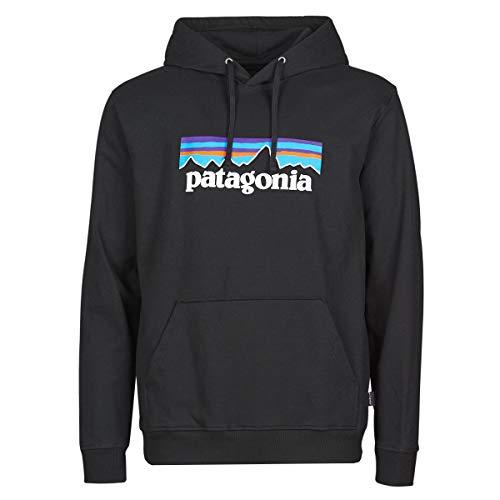 Patagonia Herren M's P-6 Logo Uprisal Sweatshirt, Black, S