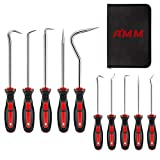 AMM 10-Piece Precision and heavy duty Pick & Hook Set, Used for automobile maintenance tools and electronic products maintenance tools, The best tool gift for a man