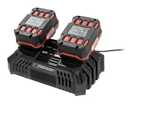 Double Battery Quick Charger PDSLG 20 A1 (Parkside X20V Team)