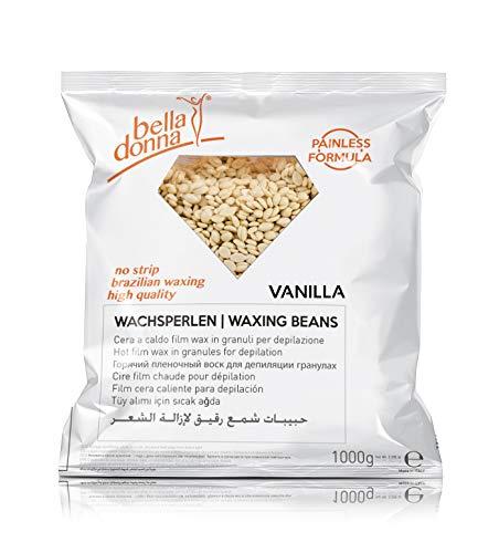 Bella Donna - Perles de cire chaude à la vanille, 1kg