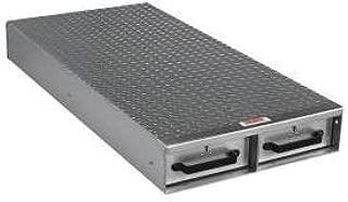 JOBOX 1402980 2-Drawer Long Floor Heavy-Duty Aluminum Drawer Storage - (24