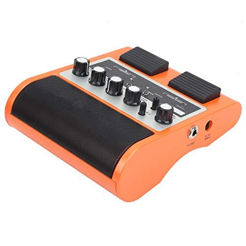 Altavoz de guitarra de pedal, amplificador de guitarra de pedal, conector de(Orange, European regulations)
