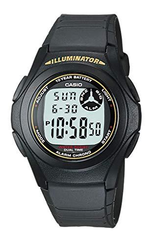 Casio Casual Sports Black Watch F-200W-9ADF
