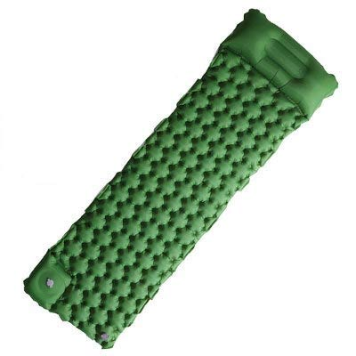 Sleeping Pad - Ultralight Inflatable Sleeping Mat, Best for Outdoor Camping, Backpacking, Hiking - Airpad, Inflating Bag, Carry Bag, Compact & Lightweight Air Mattress