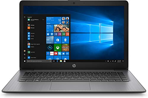 HP Stream 14 Laptop 14', Intel Celeron N4000, Intel UHD Graphics 600, 4GB SDRAM, 32GB eMMC, Office 365 1-yr, Brilliant Black, 14-cb164wm