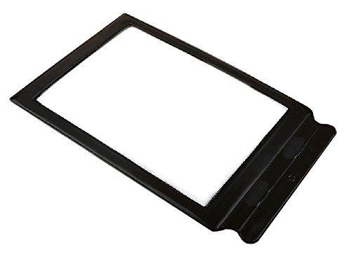シート ルーペ 拡大鏡 A4 サイズ 文字を3倍に拡大 持ち手付