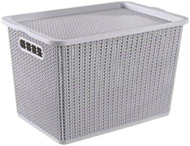 Niubiyazwl Storage Cubes 2Pcs excellence Bins Plastic Brand new Storag Boxes