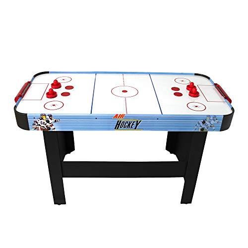 Air Hockey Teenager - Mesa Air Hockey con sistema de aire pulsado 6-8W-142 x 72 x 81 cm