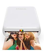 Polaroid Zip - Impresora móvil, Bluetooth, Nfc, micro USB, tecnología Zink Zero Ink, 5 x 7.6 cm, compatible con iOS y Android, blanco, 2.2 x 7.4 x 12 cm