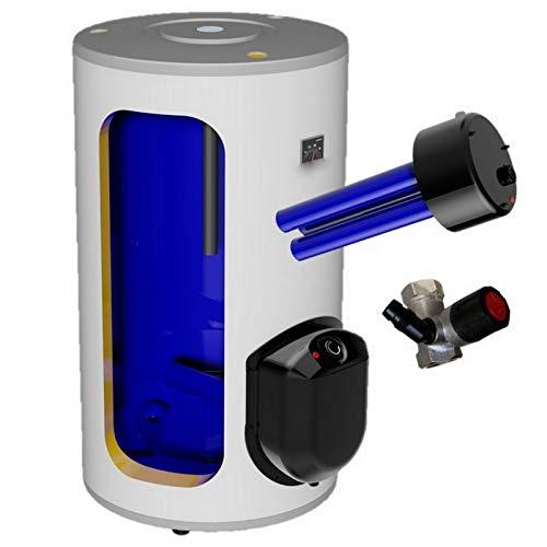 Preisvergleich Produktbild 200 Liter elektrischer Warmwasserspeicher,  Standspeicher mit integrierter Keramikheizpatrone 2, 2 kW Leistung