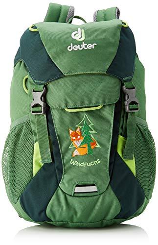 Deuter Unisex-Youth Waldfuchs Kinderrucksack, Leaf-Forest, 10