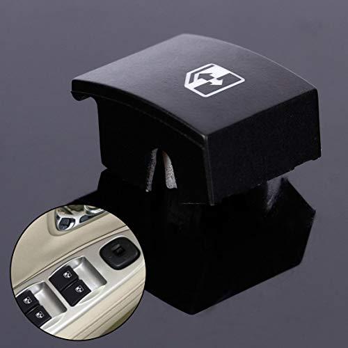Garciadia Für Opel Astra Mk5 Zafira Tigra B Elektrische Fensterheber Schalter Knopfabdeckung (Farbe: schwarz)