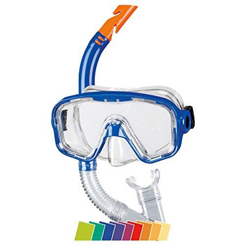 Beco Unisex Jugend Masken/Schnorchel-99006 Tauchset, blau, One Size