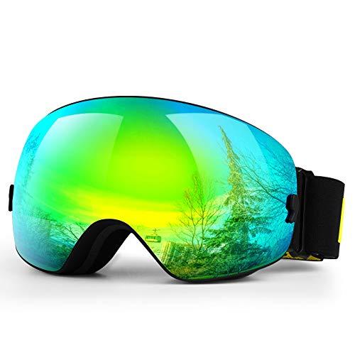 HONGDAK Ski Goggles Snow Snowboard Snowmobile Men Women Youth Kids