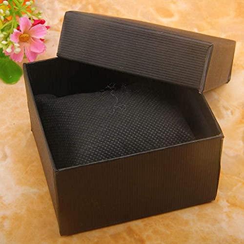 SMOOTHLY Caja de joyería Robusta, Caja de Regalo, Caja de Pulsera, Caja de Lujo, Caja de Collar, Caja de joyería para Hombres y Damas (2 Piezas)