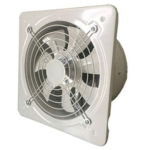 Timetided Extractor de ventilación industrial Extractor axial de metal Ventilador de aire comercial Ventilador de bajo ruido Funcionamiento estable