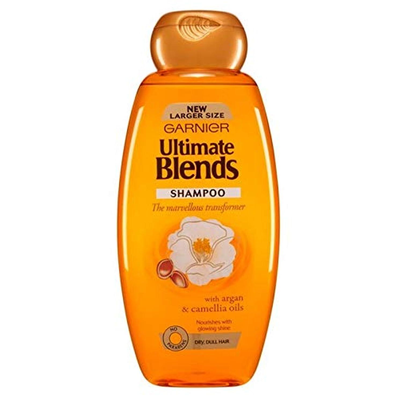 祖先大胆なバンジージャンプ[Garnier ] ガルニエ究極は、アルガンオイルつやのある髪シャンプー600ミリリットルをブレンド - Garnier Ultimate Blends Argan Oil Shiny Hair Shampoo 600ml [並行輸入品]