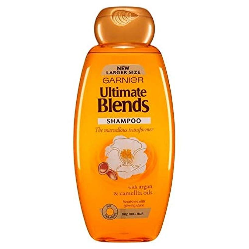 アルプスコメンテーター住人[Garnier ] ガルニエ究極は、アルガンオイルつやのある髪シャンプー600ミリリットルをブレンド - Garnier Ultimate Blends Argan Oil Shiny Hair Shampoo 600ml [並行輸入品]