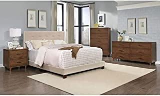 Crawford & Burke Sutter Tufted Upholstered Bed Queen