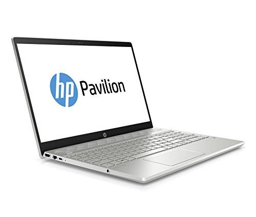 HP Pavilion 15-cs1042ng (15,6 Zoll / Full HD) Laptop (Intel Core i5-8265U quad, 8 GB DDR4 1DM, 256 GB SSD, Nvidia GeForce GTX 1050 2 GB, Windows 10 Home) silber