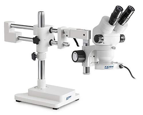 KERN OZM 922 Optics OZM-91 stereomicrocoop-sets, Binocular Tubus, 4,5 W LED (reflecting) verlichting, universeel (kogelgelagerde dubbele arm met plaat)