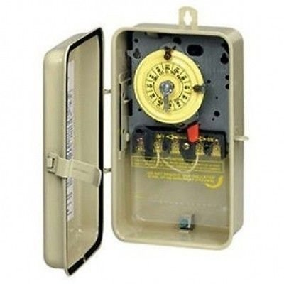 INTERMATIC Pool Spa Timer Indoor/Outdoor 220V 24hr T104P3