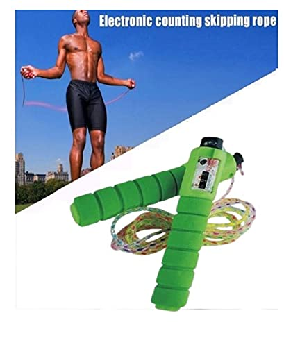 PUNT Skipping Rope with Counting Meter Sports Fitness Equipments Jumping Ropes With Hight Adjustable