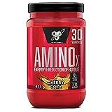 BSN Nutrition Amino X, Suplementos Deportivos BCAA Polvo con Aminoacidos Esenciales y Vitamina D, Aminoacidos BCAA para Musculacion, Cola Cereza, 30 Porciones, 435g