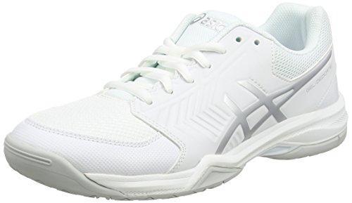 ASICS Damen Gel-Dedicate 5 Laufschuhe, Mehrfarbig (Whitesilver), 37 EU