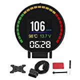 Car Multifunction Display, Accelerated Competition Mode Durable Car Speedometer, for Car Accessories Car Repair