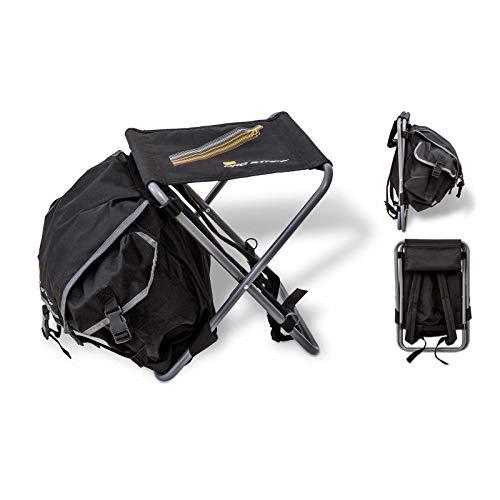 Zebco Pro Staff BP Stuhl, schwarz, 34 cm