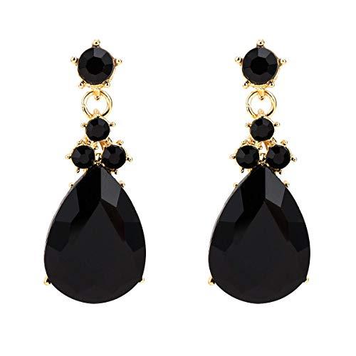 Pendientes Pendientes largos de tipo gota de Europa y América pendientes exagerados de múltiples capas de diamantes simples modelos de moda pendientes bohemios con joyas de estilo INS for mujeres