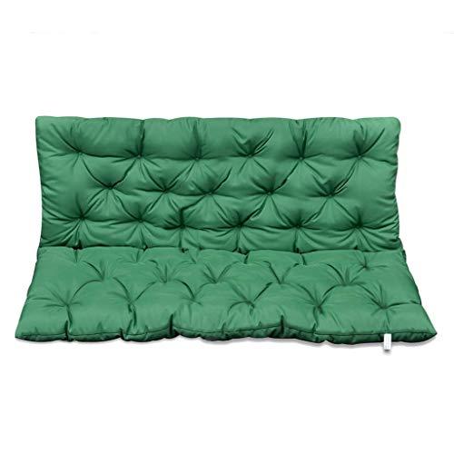 vidaXL Cuscino Verde per Dondolo 120 cm Accessori da Esterno per Giardino