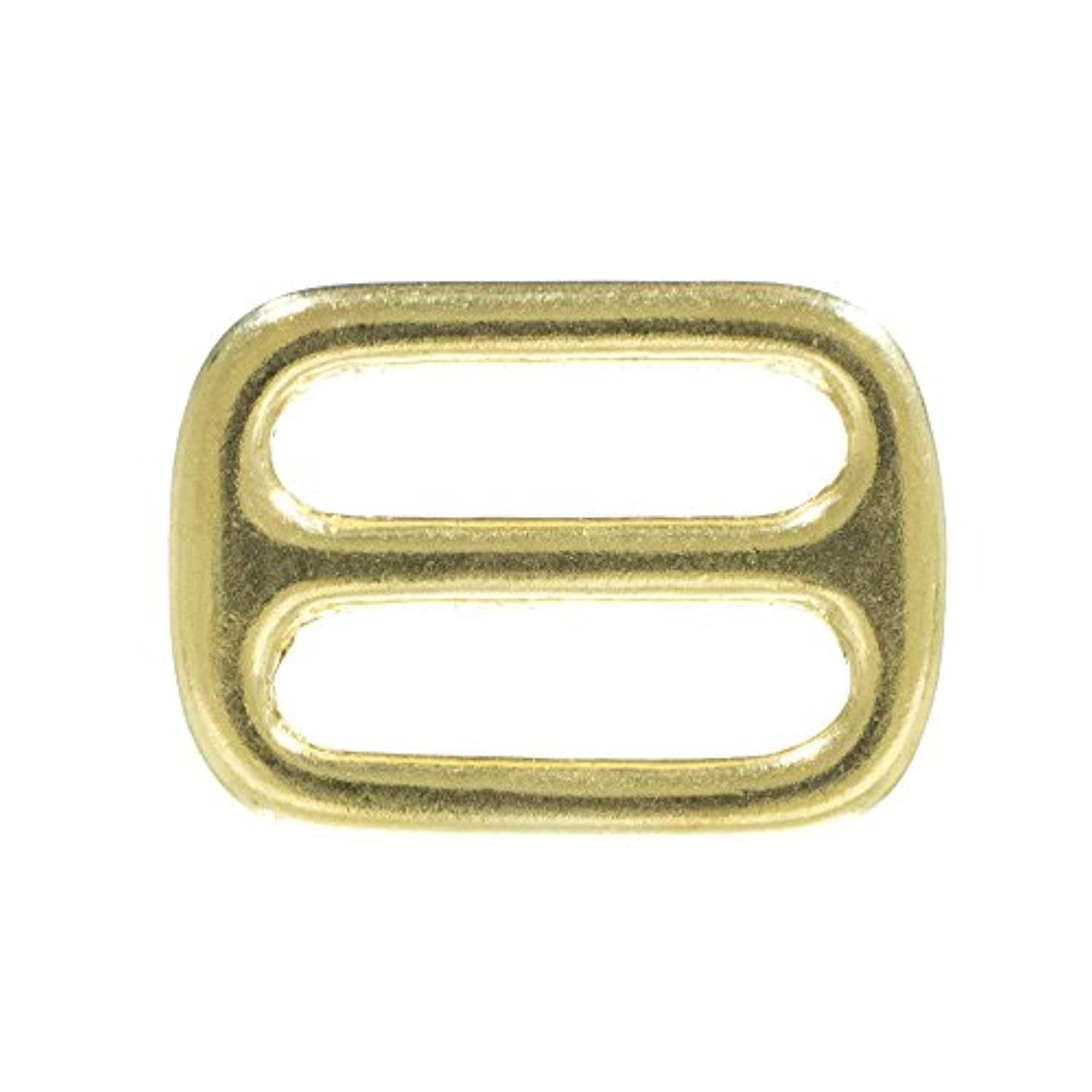 Brass Tri-Glides – 1 & 1 1/2 inch – Crafting, DIY, Jewelry Making, Purse & More – Available in Multiple Pack Sizes