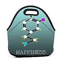 Math Education 保温再利用可能おポータブル弁当箱ランチトートバッグ食事袋子供大人ユニセックス
