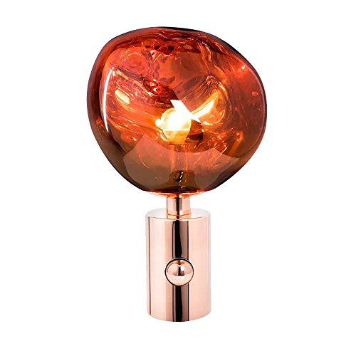 Pointhx Post-moderne Kreative Lava Lampe PVC Lava Unregelmäßigen Schreibtisch Lichter Überzogene Metall Lava Tischlampe für Wohnzimmer Nachttischlampe Hause Beleuchtung