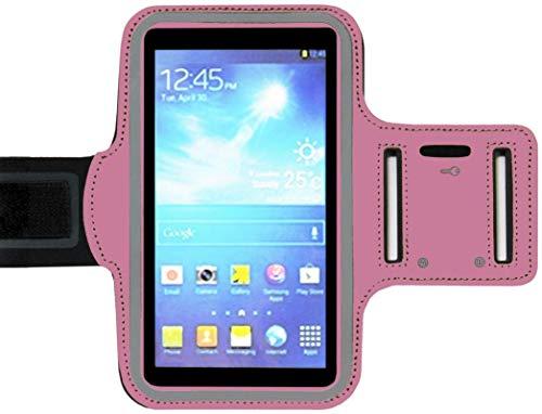 ADEL - Brazalete Deportivo de Microfibra, Compatible con LG G5, Color Rosa