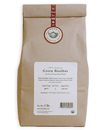 The Tao of Tea Green Rooibos, 100% Organic African Red Herb, 1-Pound