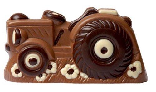 08#030621 Schokoladen Trecker, Auto, LKW klein, Porsche, Vollmilch, Deutz, Traktor, Sportwagen, Lamborghini, Geschenk, Geburtstag,